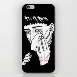 Hold Me iPhone Skin
