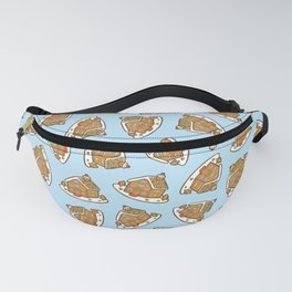 Gingerbread House Pattern - Christmas Day Fanny Pack