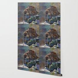 The Mountain King - Cougar Wildlife Art Wallpaper