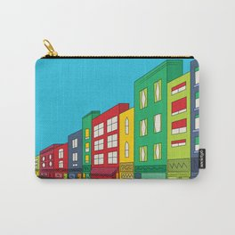 Single Shopping Street Carry-All Pouch