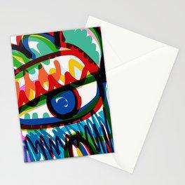 Eye of Love Felt Pen Graffiti Art Creature  Stationery Cards