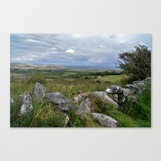 Slowly the Landscape Changes.... Canvas Print