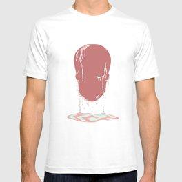 Calavera se derrite. T-shirt