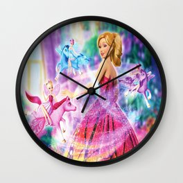 PRINNCESS Wall Clock