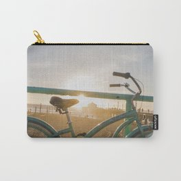 Bike & Beach in Sunny Manhattan Beach, California Carry-All Pouch
