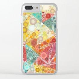 Hazy Summer Days Clear iPhone Case