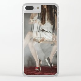 Alice, we're All mad Here Clear iPhone Case
