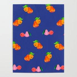 Jambu I (Wax Apple) - Singapore Tropical Fruits Series Poster