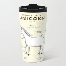 Anatomy of a Unicorn Metal Travel Mug