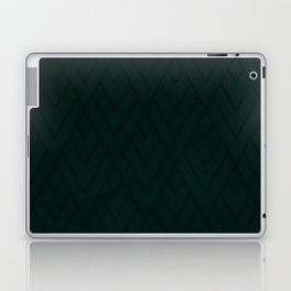 Green Deco Grunge 001 Laptop & iPad Skin