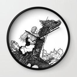Dragonborn kids Wall Clock