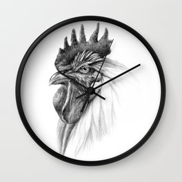 The Rooster SK065 Wall Clock