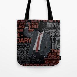 Barney Stinson - Legendary T-shirt of Awesomeness Tote Bag
