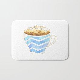 Capuccino Foam Cup Bath Mat