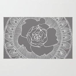 Rose Mandala Rug