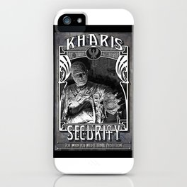 Kharis Security Service iPhone Case