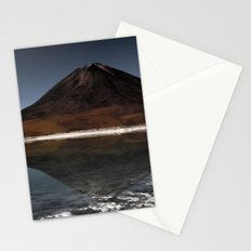Mountain of the lake Stationery Cards