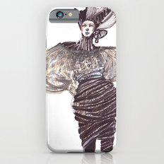 Fashion sketches in mixed technique Slim Case iPhone 6s