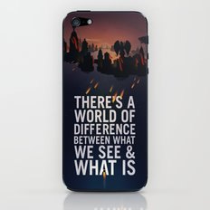Bioshock Infinite Quote iPhone & iPod Skin