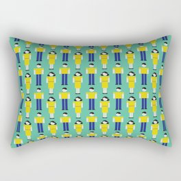 Digital Love (Patterns Please) Rectangular Pillow