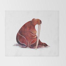 Walrus Throw Blanket