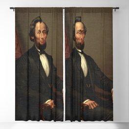 Portrait of President Abraham Lincoln Blackout Curtain