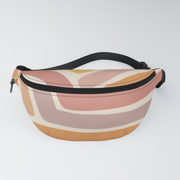 Abstract Stripes IV Fanny Pack