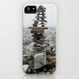 Maine Cairn iPhone Case