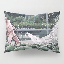 Pink Guy Pillow Sham