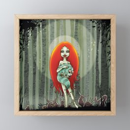 Forest fairey Framed Mini Art Print