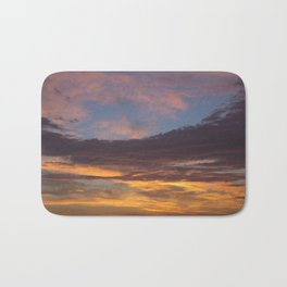 Sky on Fire. Bath Mat