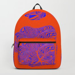 breaking heart in acid contrast Backpack