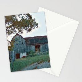 Barn built 1906 Stationery Cards