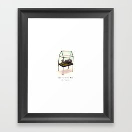 the wandering Eye in a wagon Framed Art Print