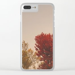 In the Fall Clear iPhone Case
