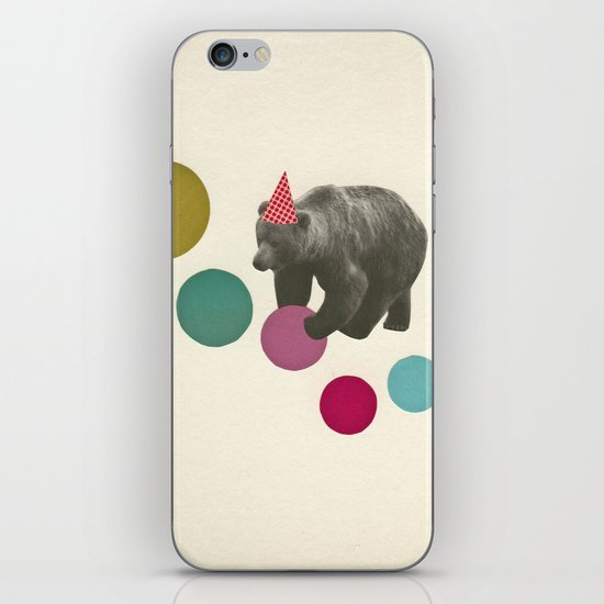 Birthday Bear iPhone Skin