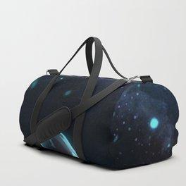 Undertale under a starry sky Duffle Bag