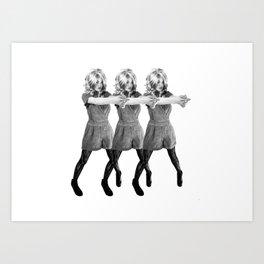 Wild Wild Bex Art Print