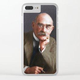 Rudyard Kipling Clear iPhone Case