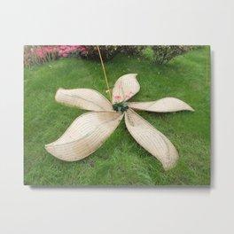 Open Flower Metal Print