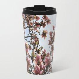 Spring Magnolias Travel Mug