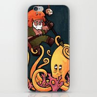 fight iPhone & iPod Skins featuring Fight by Matt Sinor