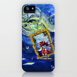 Abyss of the Deep iPhone Case