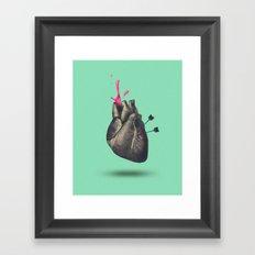 heart of sugar Framed Art Print