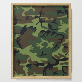 Army Camouflage Serving Tray