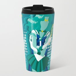 Soldier of the Sea & Embrace Travel Mug