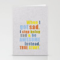 himym Stationery Cards featuring LEGEN____waitforit____DARY by Bianca Green