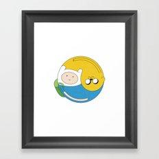 Adventurer Balance Framed Art Print
