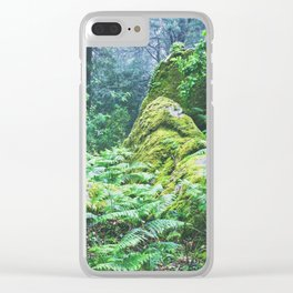 The Nature's green Clear iPhone Case
