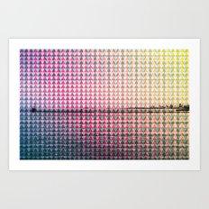 GEO/METRIC Art Print